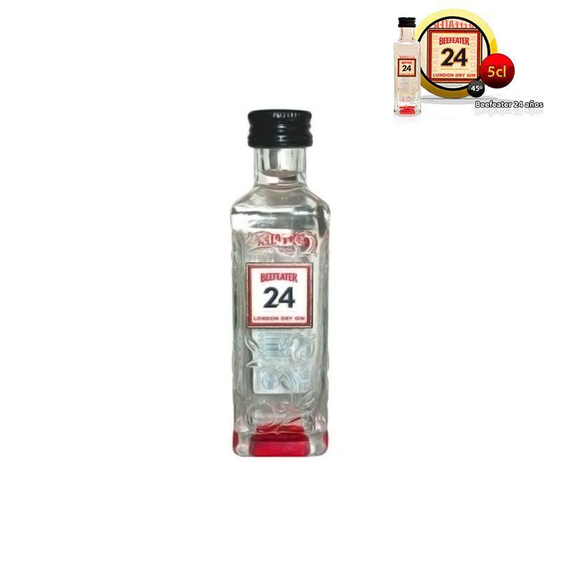 Mini botella ginebra Beefeater 24