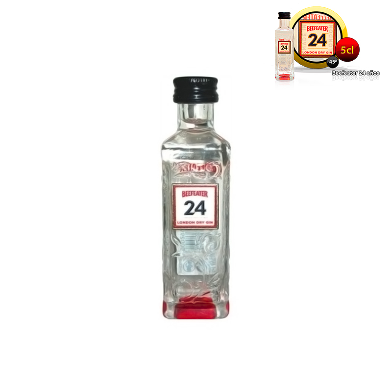 Mini botella ginebra Beefeater 24