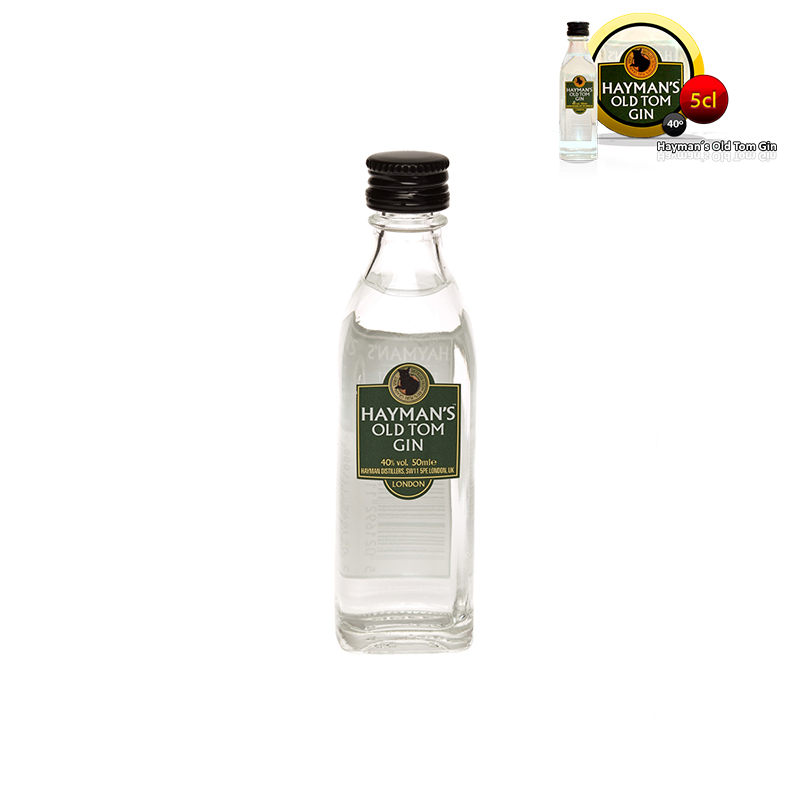 Mini botella ginebra Hayman's Old Tom