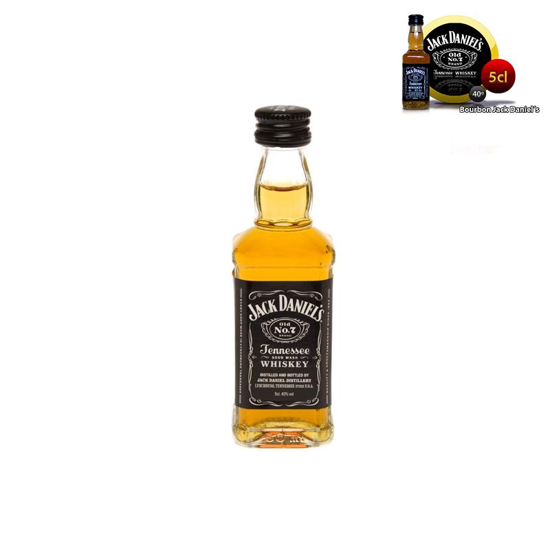 Minibotella para boda Jack Daniels