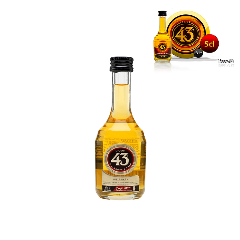 Mini botella Licor 43, 5cl