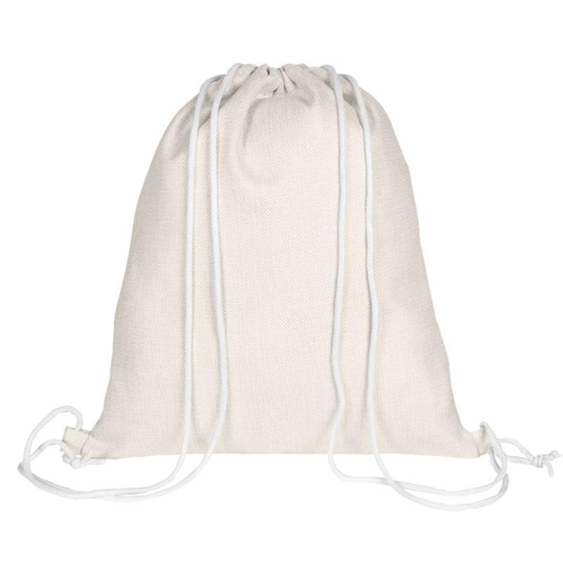 Mochila de cuerdas personalizada para comunión, modelo pelota mochila cuerdas comunion personalizada vista trasera