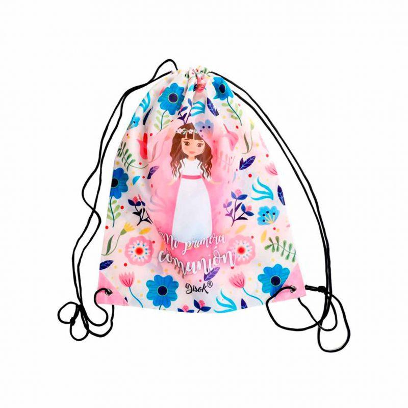 Mochila de cuerdas Primera Comunión niña mochila de cuerdas primera comunion nina scaled