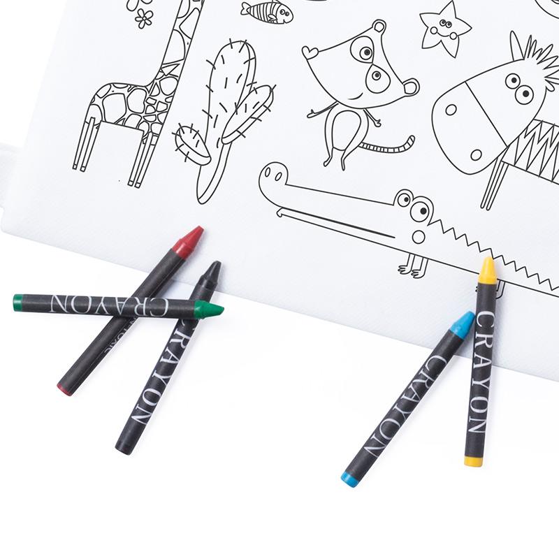 Mochila infantil para colorear. Modelo Animales. Incluye 5 ceras. mochila infantil para colorear modelo animales incluye 5 ceras detalles de comunion2