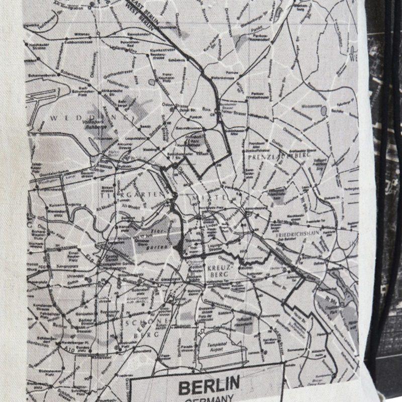 Mochila poliester con cuerda. Modelo City. 6 diseños. 28x36 mochila mapa ciudades 2