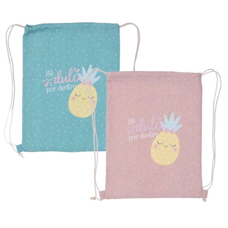Original bolsa para regalar. Se dulce por dentro. 2 colores. 30x40cm