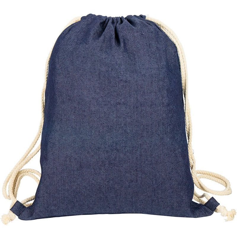 Mochila de cuerdas modelo Denim. 34x42cm mochila para regalar denin