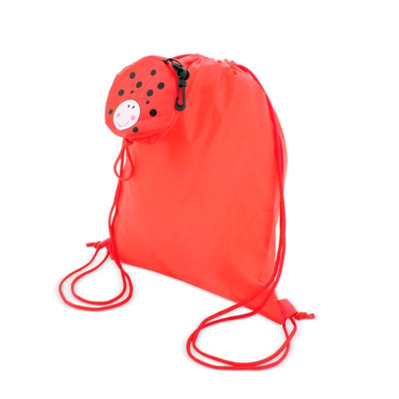 Mochila plegable Mariquita Sonriente mochila plegable mariquita sonriente detalles de comunion4
