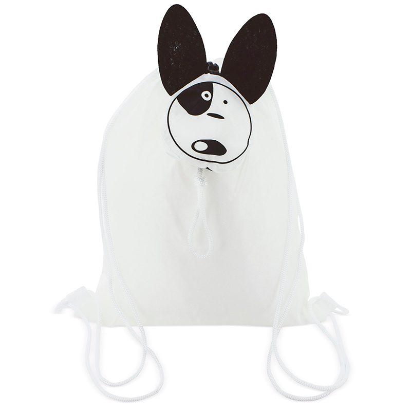 Mochila plegable Perrito mochila plegable perrito detalles de comunion3