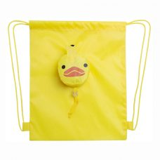 mochila plegable modelo patito amarillo