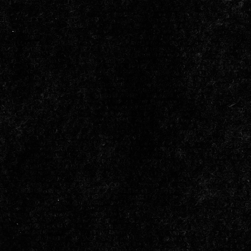 Moqueta para eventos. Al corte. 1 metro de ancho. Color negro.
