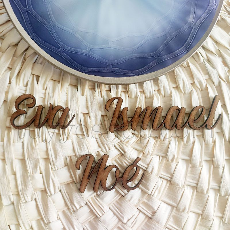 Nombres marcasitios en madera para boda, personalizables, clásico nombres marcasitios para boda madera