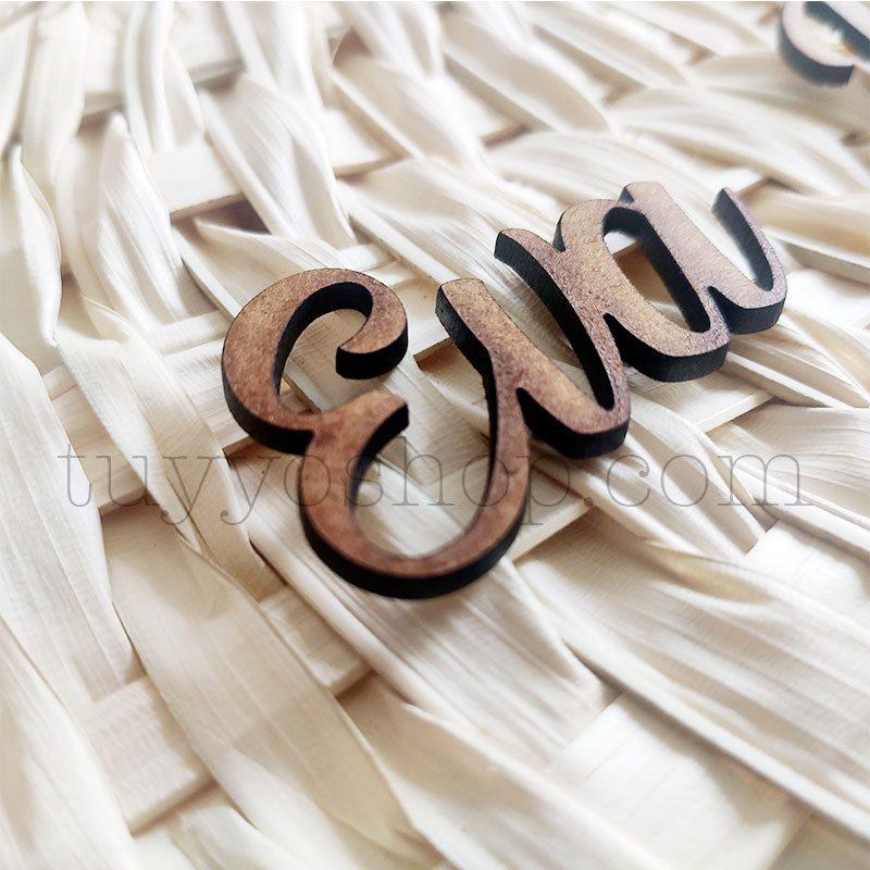 Nombres marcasitios en madera para boda, personalizables, clásico nombres marcasitios para boda personalizados