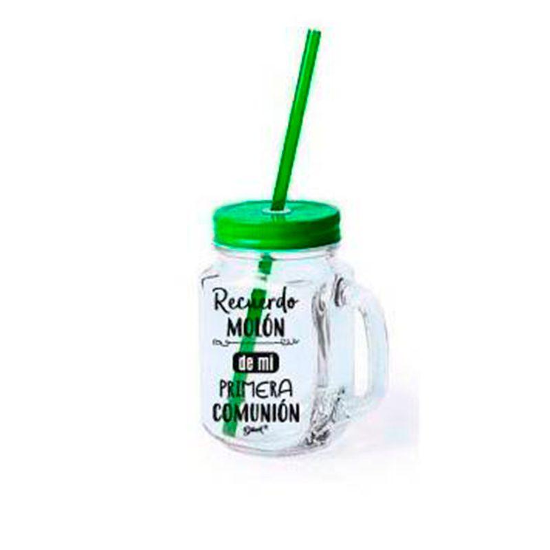 Ultimos regalos para invitados añadidos nueva jarra con pajita recuerdo muy molon 3 colores verde