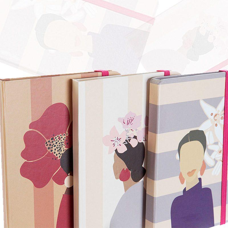 Ultimos regalos para invitados añadidos nueva libreta para boda mujer floral 3 disenos surtidos 10 5cm x 14 5cm regalos mujeres