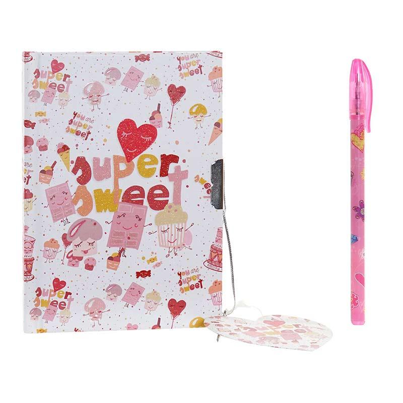 Nuevo diario supersweet rosa 14,5x19,5cm nuevo diario supersweet rosa 145x195cm 1
