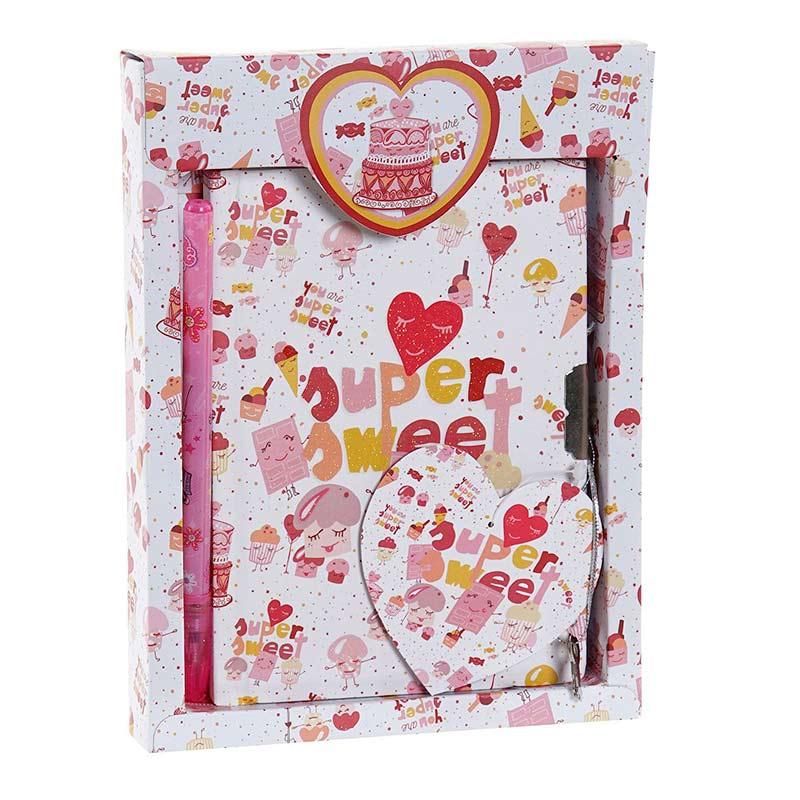 Nuevo diario supersweet rosa 14,5x19,5cm nuevo diario supersweet rosa