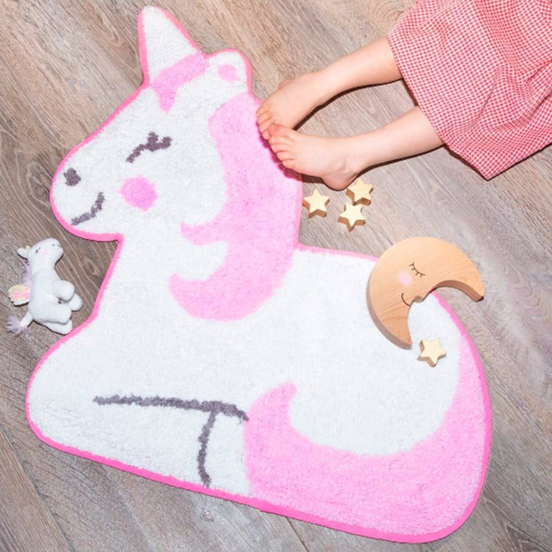 Original alfombra infantil Rainbow Unicornio original alfombra infantil rainbow unicornio detalles decoracion