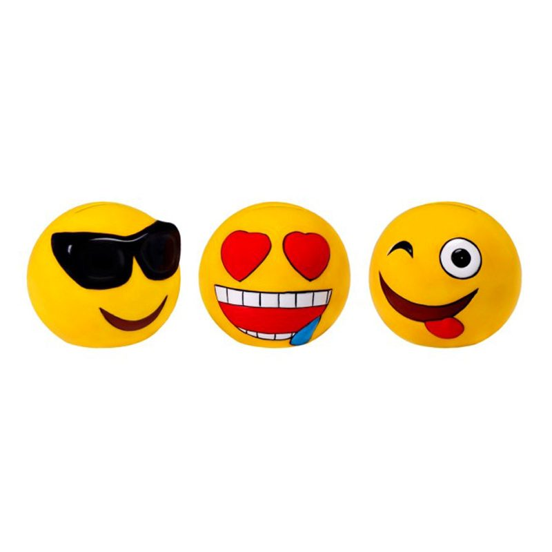 Original hucha emoticonos