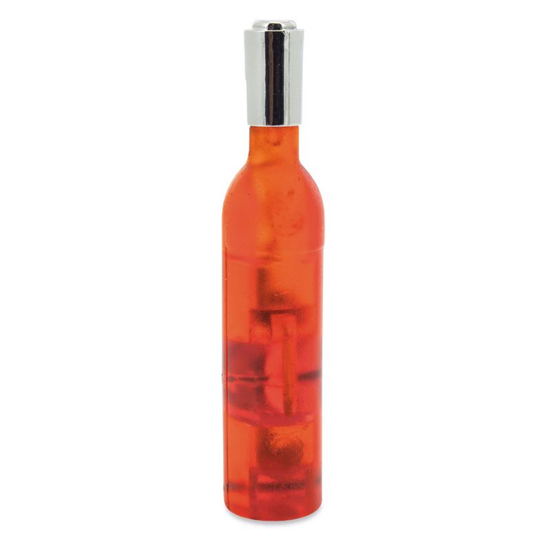 Original sacacorchos, abridor e imán para la nevera. Forma de botella.