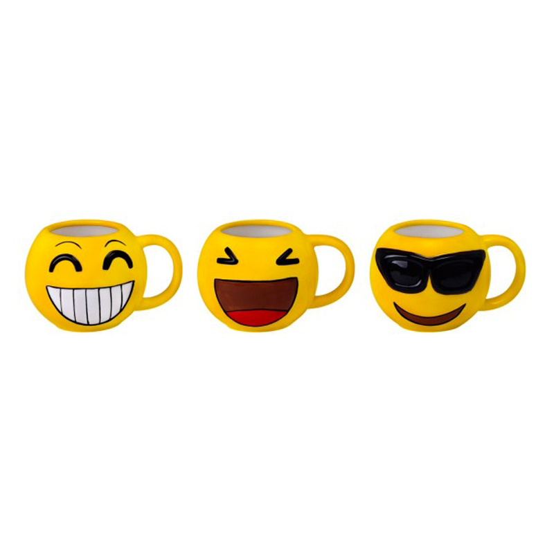 original taza emoticonos