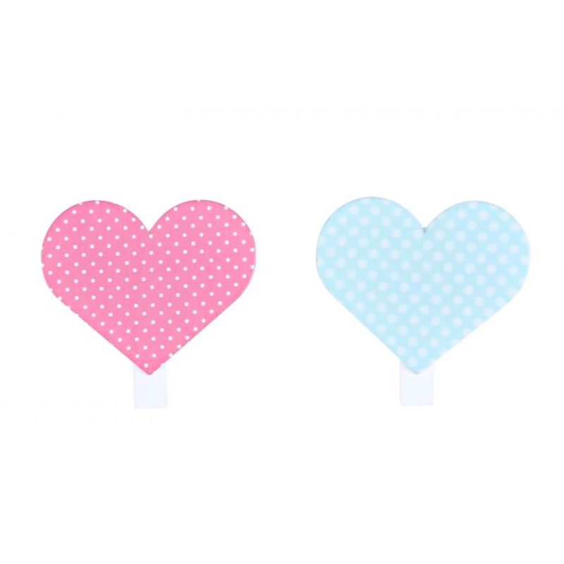 Pack 4 pinzas de madera corazones pack 4 pinzas madera corazones 3