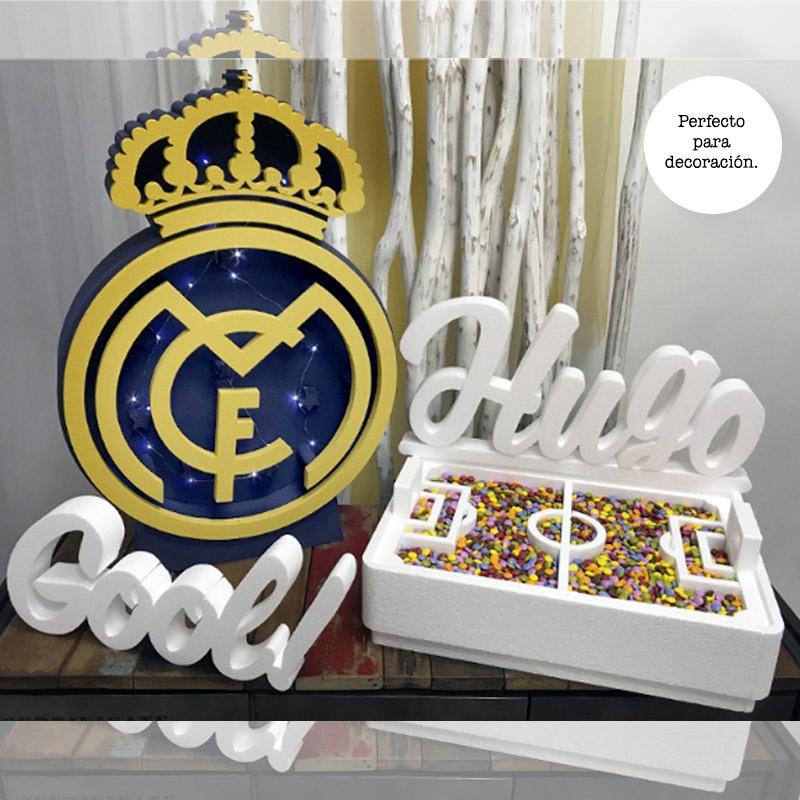 Ultimos regalos para invitados añadidos pack futbol real madrid