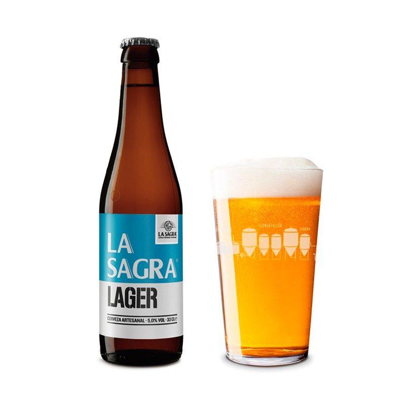 Cerveza artesanal La Sagra. 33cl. Pack de 12. 1.99€/unidad