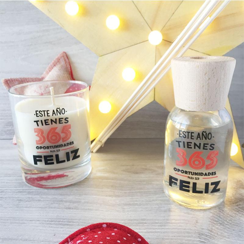 Pack regalo de navidad con vela y mikado oportunidades - Buenos regalos para navidad ...