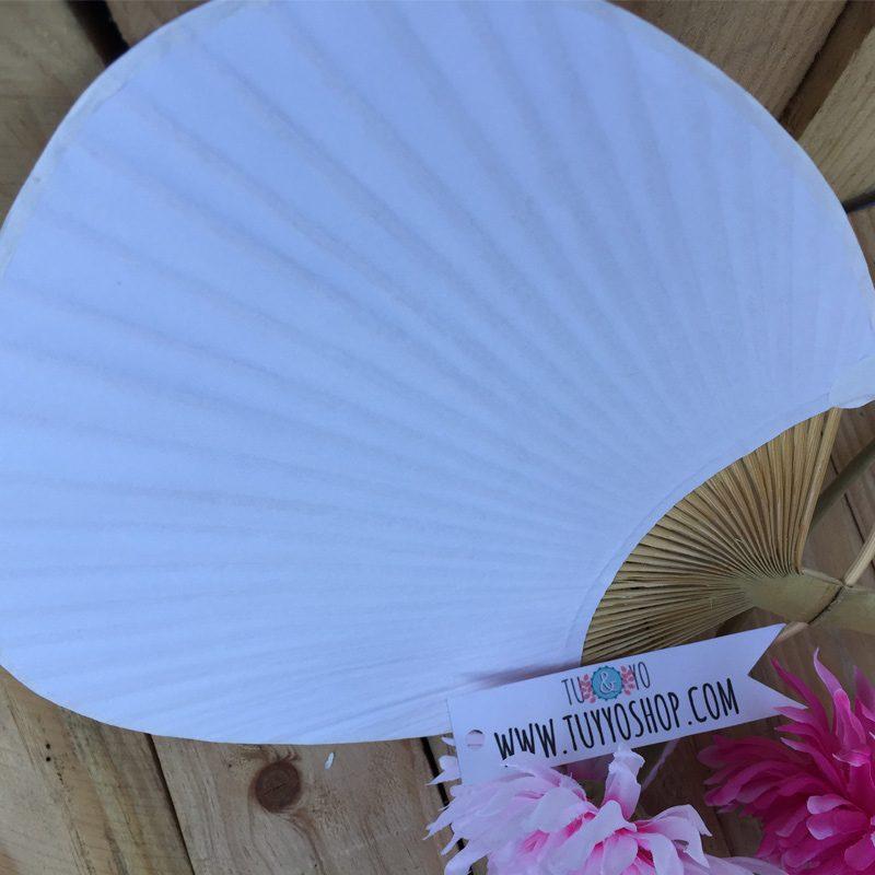 Pai pai de bambú para bodas, en color blanco pai pai bodas 5