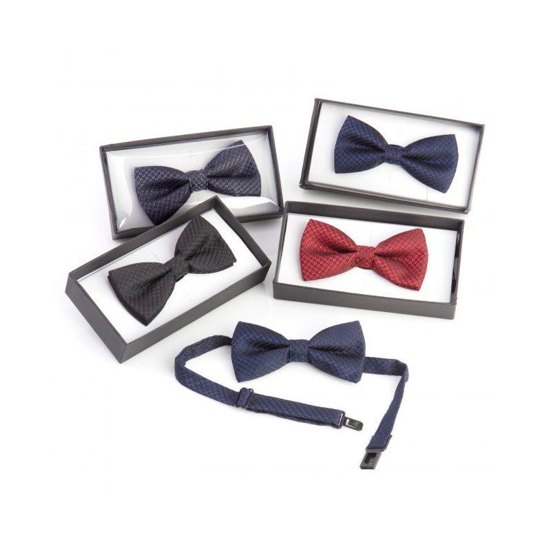 Pajarita para invitados de boda. Modelo Manhattan. En caja de regalo.