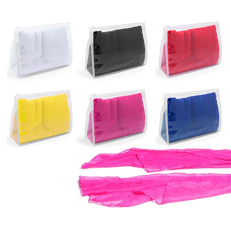 Pañuelo para boda. Presentado en neceser transparente. 6 colores