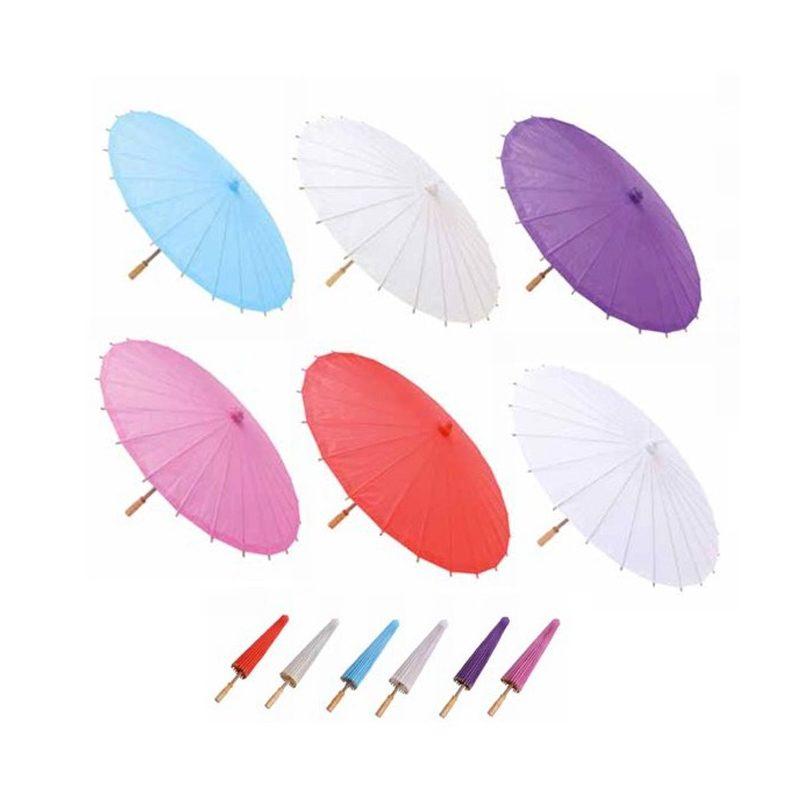 Parasol Papel Bambú parasol 5