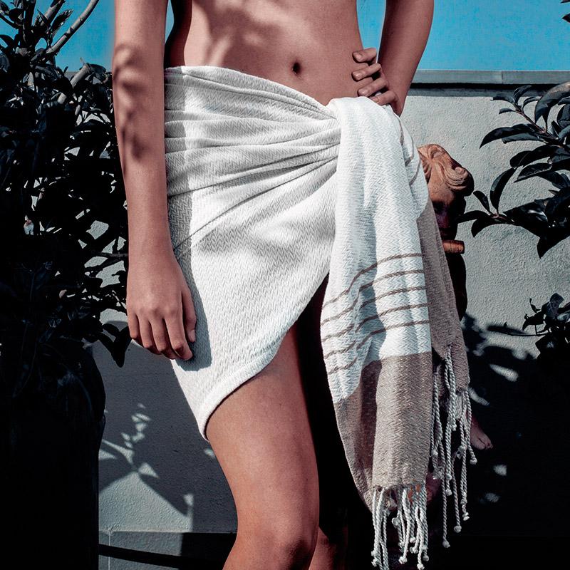 Toalla pareo modelo Grecia. 3 colores. 90x180cm