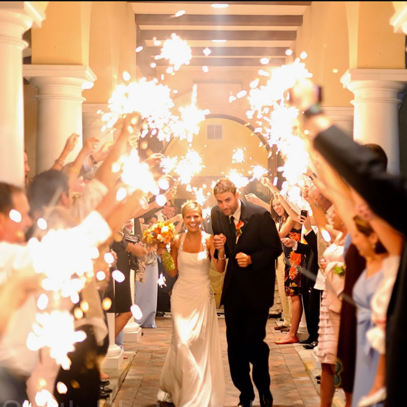 Bengalas para bodas y eventos.