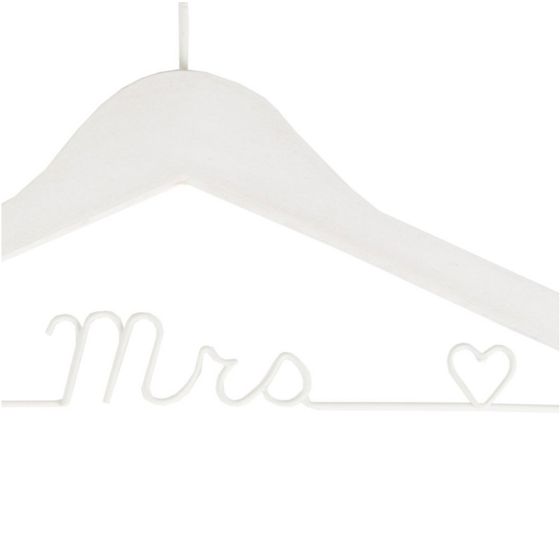 percha para boda mr & mrs