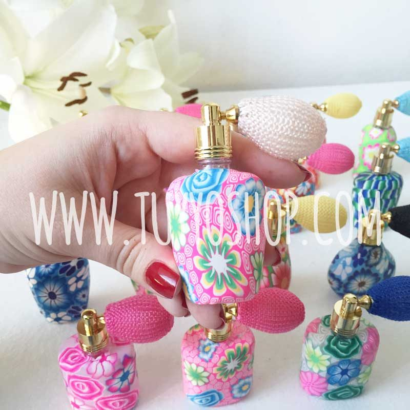 Perfumero de pera para boda diseño vintage 15ml