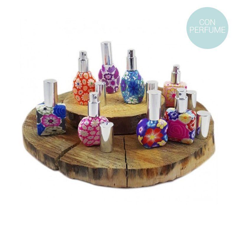 Perfumero vintage en spray con perfume de 15ml