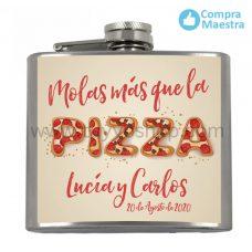 petaca para boda molas mas que la pizza