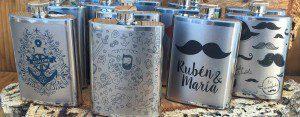 Petacas para bodas personalizadas