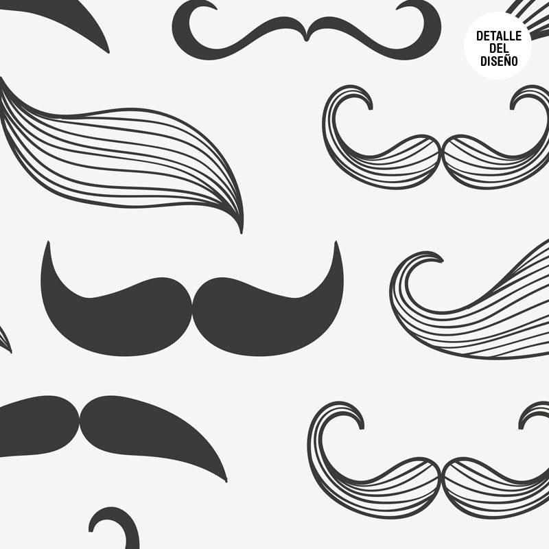 Photocall para boda diseño moustache