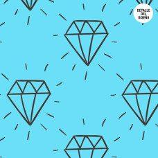 Photocall para boda diseño diamantes