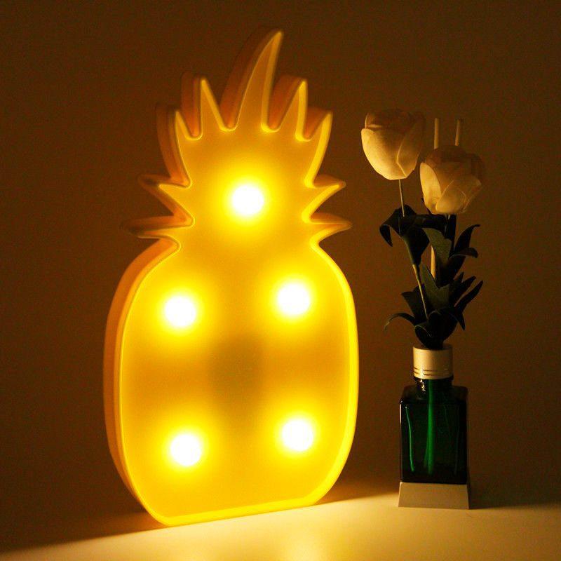 Piña decorativa con iluminación led pina decorativa con iluminacion led2