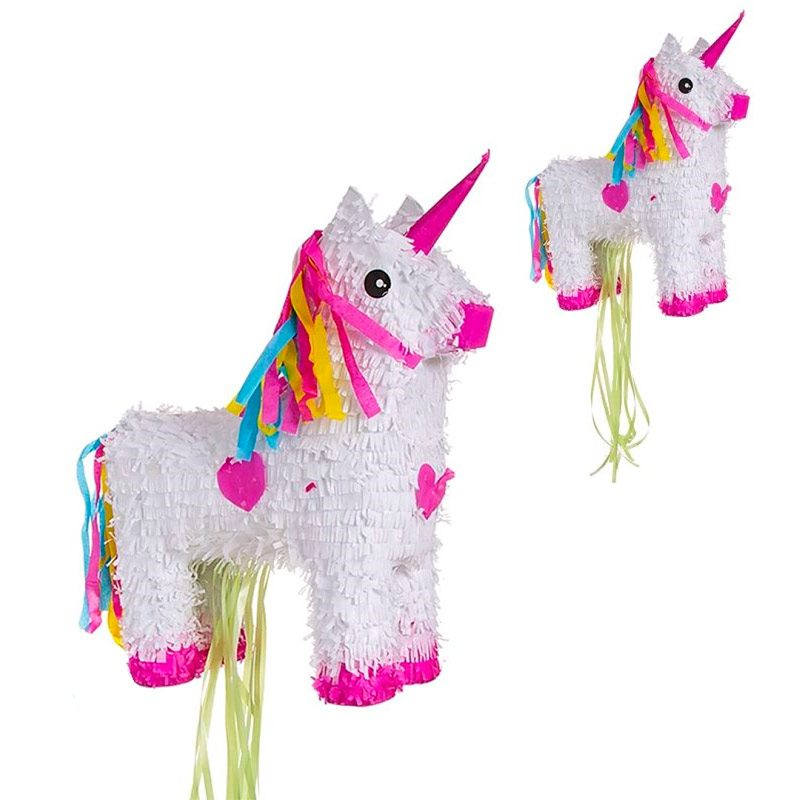 Piñata para eventos. Modelo cuerpo unicornio. 39x49cm