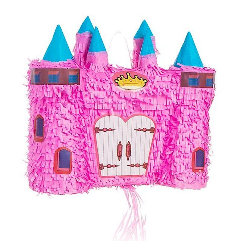 Piñata para eventos. Modelo castillo princesas. 56x18x23cm pinata para eventos modelo castillo princesas 56x18x23cm detalles originales