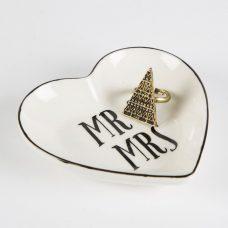 platito anillero mr & mrs