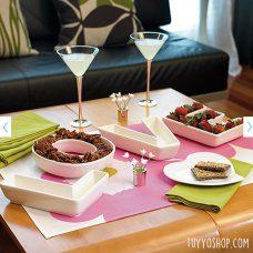 Platos para aperitivos LOVE