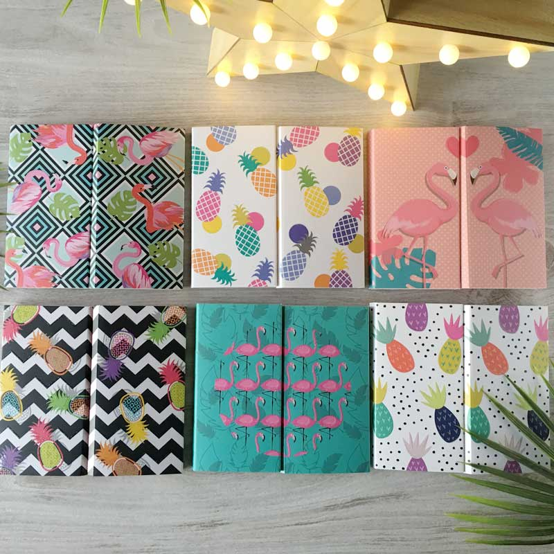 Plegable copacabana 6 bloc de notas