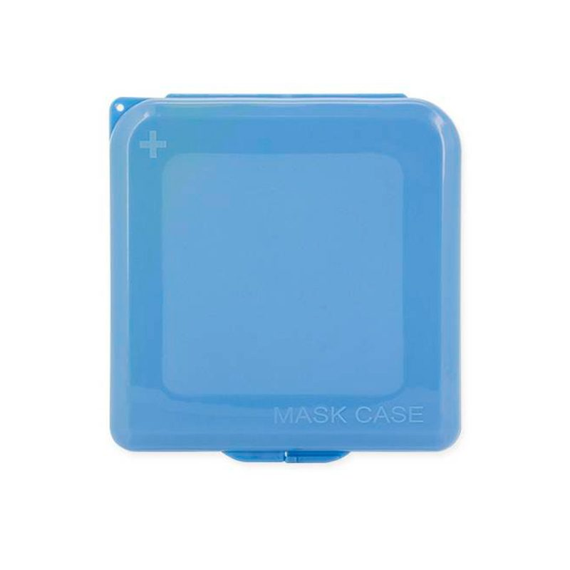 Portamascarillas en color azul