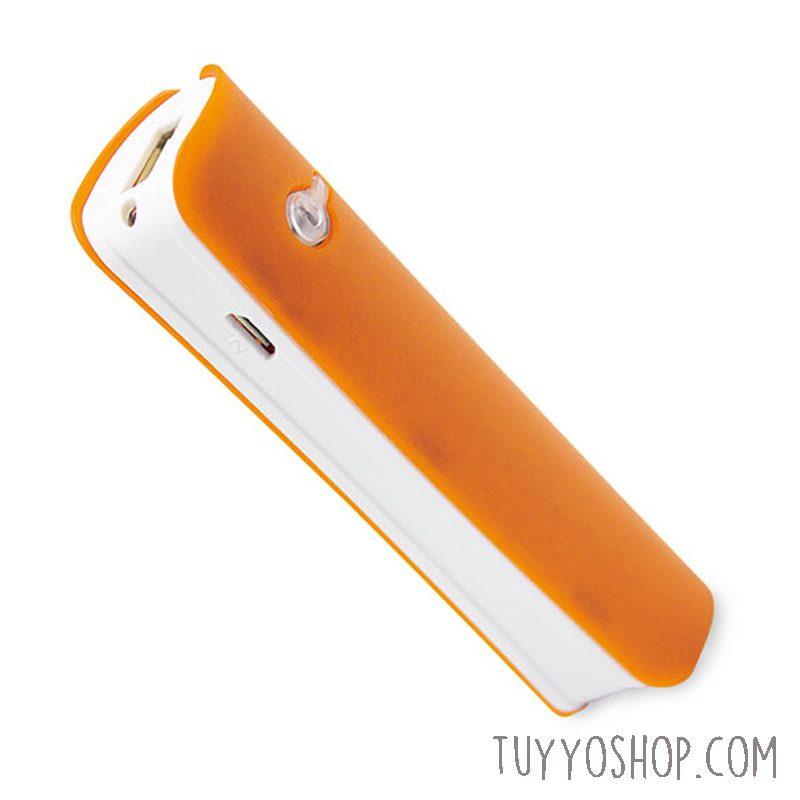Cargador USB Power bank con linterna